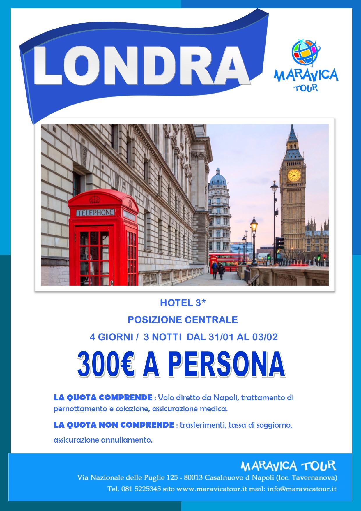 LONDRA FEBBRAIO 300€ – Maravica Tour – Agenzia Viaggi Casalnuovo di ...